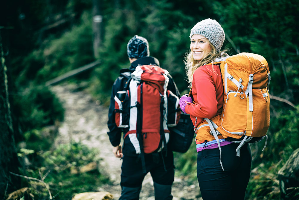 Successful Hikes depend on a quality pair of well fitted hiking boots or shoes.