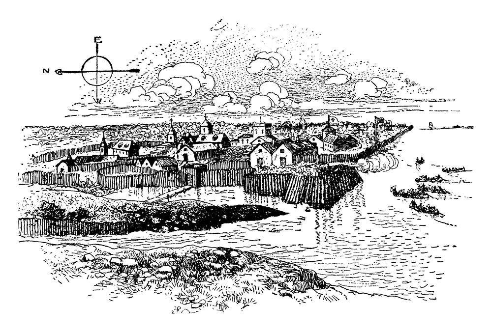 Jamestown was built by pioneer loggers
